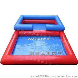 广场儿童沙滩池价格 湖南双层充气池子