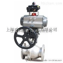 上海气动切断球阀ZQO