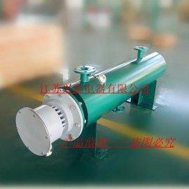 厂家直销 站立式流体管道电加热器 防爆管道加热器