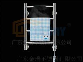 金瑞 304不锈钢电热毛巾架卫生间置物架浴巾架 JR-H-G5