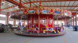 專業生產豪華轉馬 兒童遊樂設備生產廠家 最新大小型 遊樂設備