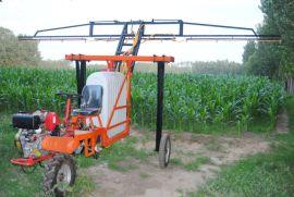 大成牌高度可调三轮打药车 农田液压升降喷雾器
