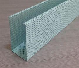 佛山铝天花厂家批发供应冲孔铝方通U形铝方通规格