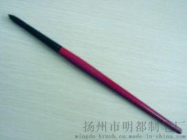 红色木杆黑色铝箍化纤丝毛画笔(225)