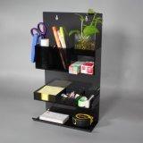 亞克力居家化妝收納盒桂架廠家直銷 辦公室文件文具收納盒可桂牆擺放展示架訂制