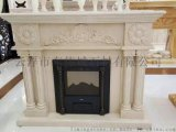 別墅專用高檔大理石歐式雕刻壁爐架