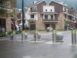 挡车防撞升降桩,全自动升降路障,上海液压升降立柱