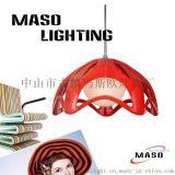 热卖五角星型条形树脂灯具MASO玛斯欧家居灯饰卧室客厅吊灯MS-P1024