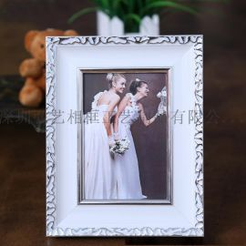 PS发泡塑料相框 定制摆台小相框7寸10寸照片像框婚纱影楼相框