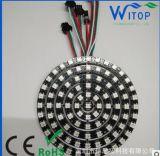 WS2812B圓環可控制圓圈簡約個性時尚創意環形裝飾燈 全彩車燈