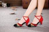 女大码拉丁舞蹈鞋 软底摩登国标交谊舞跳舞鞋定做43