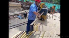 全自动型钢管调直机 脚手架钢管矫直除锈刷漆机