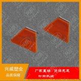 廠家直供反光標反光板梯形輪廓標反光片附着式單支單面輪廓標