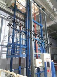 **液压升降机 升降货梯3层厂房货梯2吨载货电梯