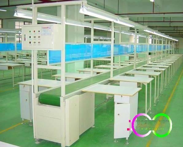 惠州玩具裝配生產線 惠陽惠城工業裝配拉線 皮帶線 皮帶機