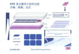 EPE复合膜(EVA+PET+EVA三层复合)