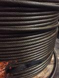 旋挖钻机专用钢丝绳 打桩机钢丝绳批发 锻打钢丝绳 扁丝钢丝绳 现货供应