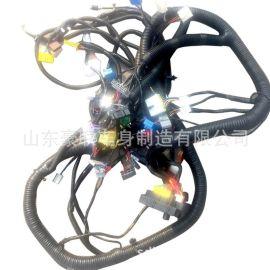 虎VH驾驶室线束总成 解放虎VH起动机电瓶线路图片 厂家 价格