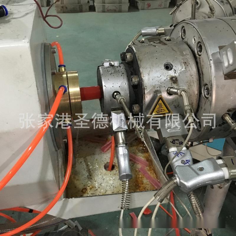 廠家直供高速PERT,PEXB三層阻氧地暖管生產線