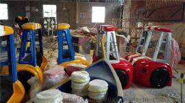 游乐设施树脂玩具卡通车雕塑定做厂家