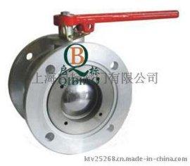 Q41F圆法兰铝合金球阀