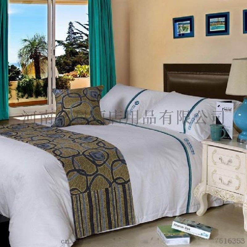 河南铭科宾馆酒店客房布草客房床上用品客房被芯枕芯