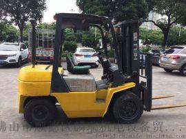 佛山二手柴油车 低价租售台合力3吨3米自动波内燃叉车