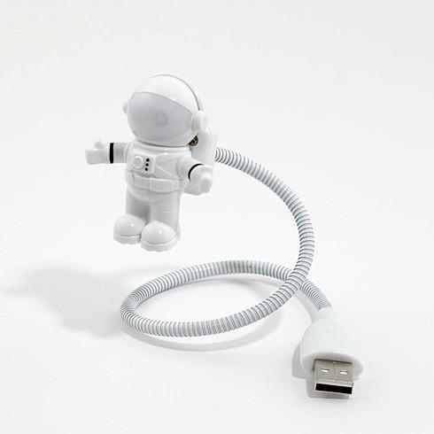 厂家直销 创意太空人小夜灯 宇航员面罩usb小夜灯 led电脑小夜灯