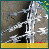 广州现货镀锌刀片刺线 边防哨所专用刀片刺绳小区厂区防爬防护