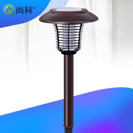 苏州尚科太阳能户外照明灭蚊灯电击式灭蚊器厂家