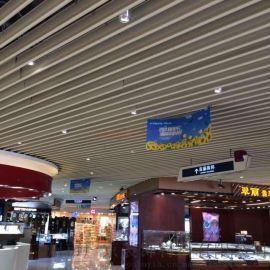 大型购物商场铝挂片-商场铝挂片吊顶