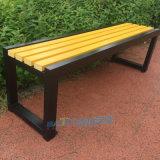 厂家直销公园排椅实木长条凳商场休息椅钢木长椅