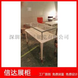 木质烤漆珠宝陈列柜产品展览柜透明玻璃展示柜