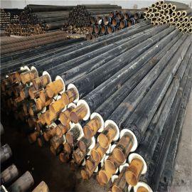 牡丹江 鑫龙日升 采暖聚氨酯保温管 钢套钢蒸汽保温钢管