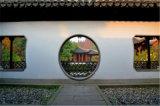 佛寺旅遊區熒光鋁窗花 宋朝隔斷仿古鋁窗花