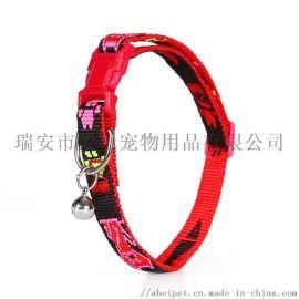 宠物狗狗猫项圈小型犬牵引绳子铃铛围脖新款用品