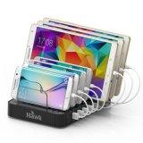 浩客S760 7口USB充電器多口充電器充電頭蘋果充電器安卓手機平板 黑色