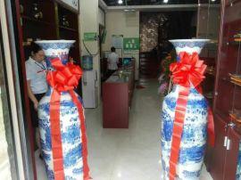 西安开业大花瓶办公室摆件青花瓷大花瓶盼源厂家直销