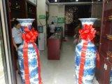 西安開業大花瓶辦公室擺件青花瓷大花瓶盼源廠家直銷