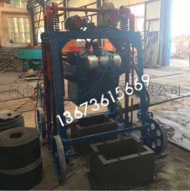 班产1-2万块移动砖机设备 河南甲庚小型砖机厂家 大轮移动制砖机
