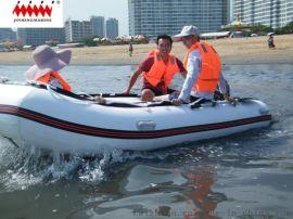 橡皮艇橡皮艇充气冲锋舟三层夹网PVC
