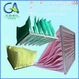 义乌 印刷厂中效袋式过滤器 静电棉滤料 戈奈品牌采购
