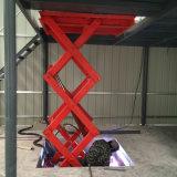 電動液壓固定剪叉式升降機平臺廠房簡易貨梯提升機大噸位起重設備