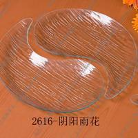 异形2014钢化玻璃盘新产品