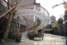 钢结构旋转楼梯制作安装