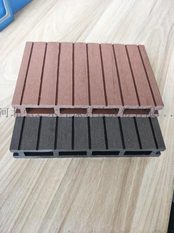 天津防腐木塑地板 环保塑木 户外木塑
