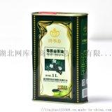 四季春1L铁罐包装茶油 纯正野茶树茶籽油 农家茶油