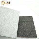 灰色方塊地毯基布