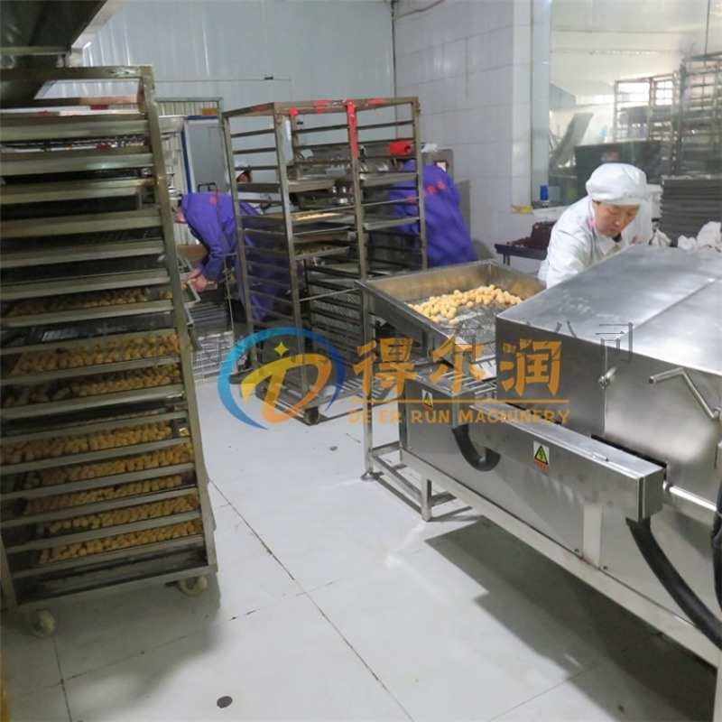 推荐智能电加热炸油条设备 思念大型自动炸油条设备