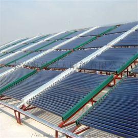 太阳能厂家直销铝合金支架太阳能热水工程循风联箱